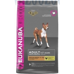 Eukanuba Adult Medium Breed CKN 15 KG.