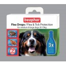 BEAPHAR Flea Drops for Large Dogs
