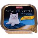 Animonda Vom Feinsten - konservi kastrētiem kaķiem ar tītara gaļu un sieru - 100g