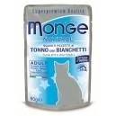 MONGE Natural Tuncis želeja ar snitku 80g
