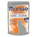 MONGE Natural Tuncis želeja ar lasi 80g