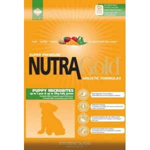 Nutra Gold Holistic Puppy Microbites