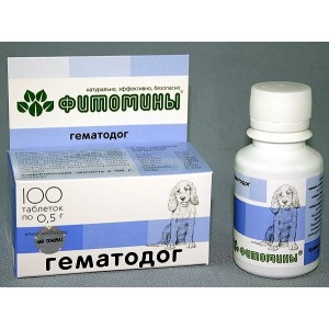 Fitomīni HematoDog suņiem - 50g (100gab.)